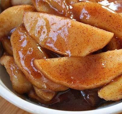 Oven Roasted Apple Slices