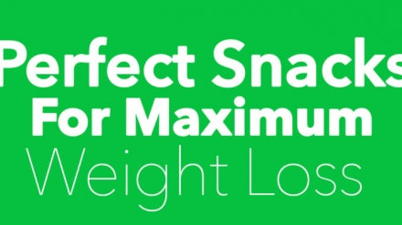Experts Share the Perfect Snacks For Maximum Weight Loss