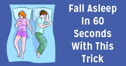 Fall Asleep In 60 Seconds With This Neat Trick. Here's How