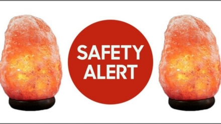 Thousands of Himalayan Rock Salt Lamps Recalled