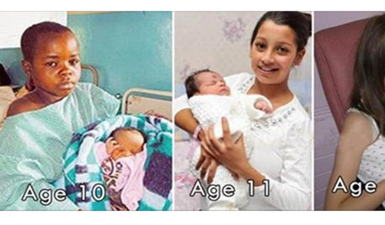 10 Of The World's Youngest Parents: OMG 6 Is Shocking