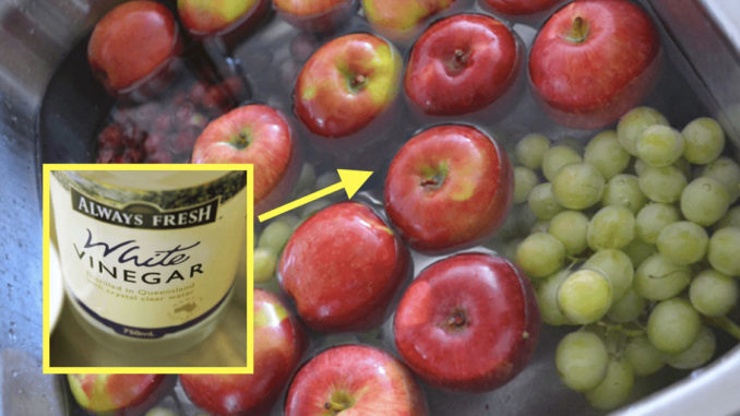 The Simple Way To Wash Off Pesticides From Food