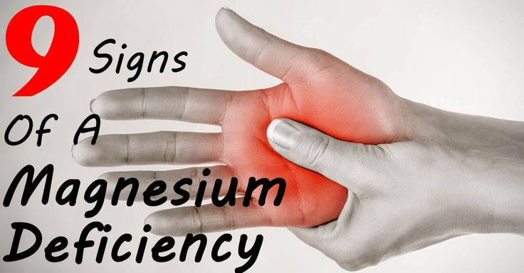 9 Symptoms Of Magnesium Deficiency And 9 Foods To Fix Them