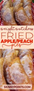 FRIED APPLE or PEACH PIES