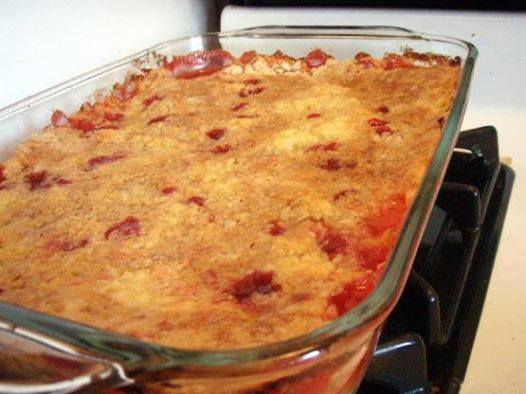 Cherry Pineapple Dump Cake