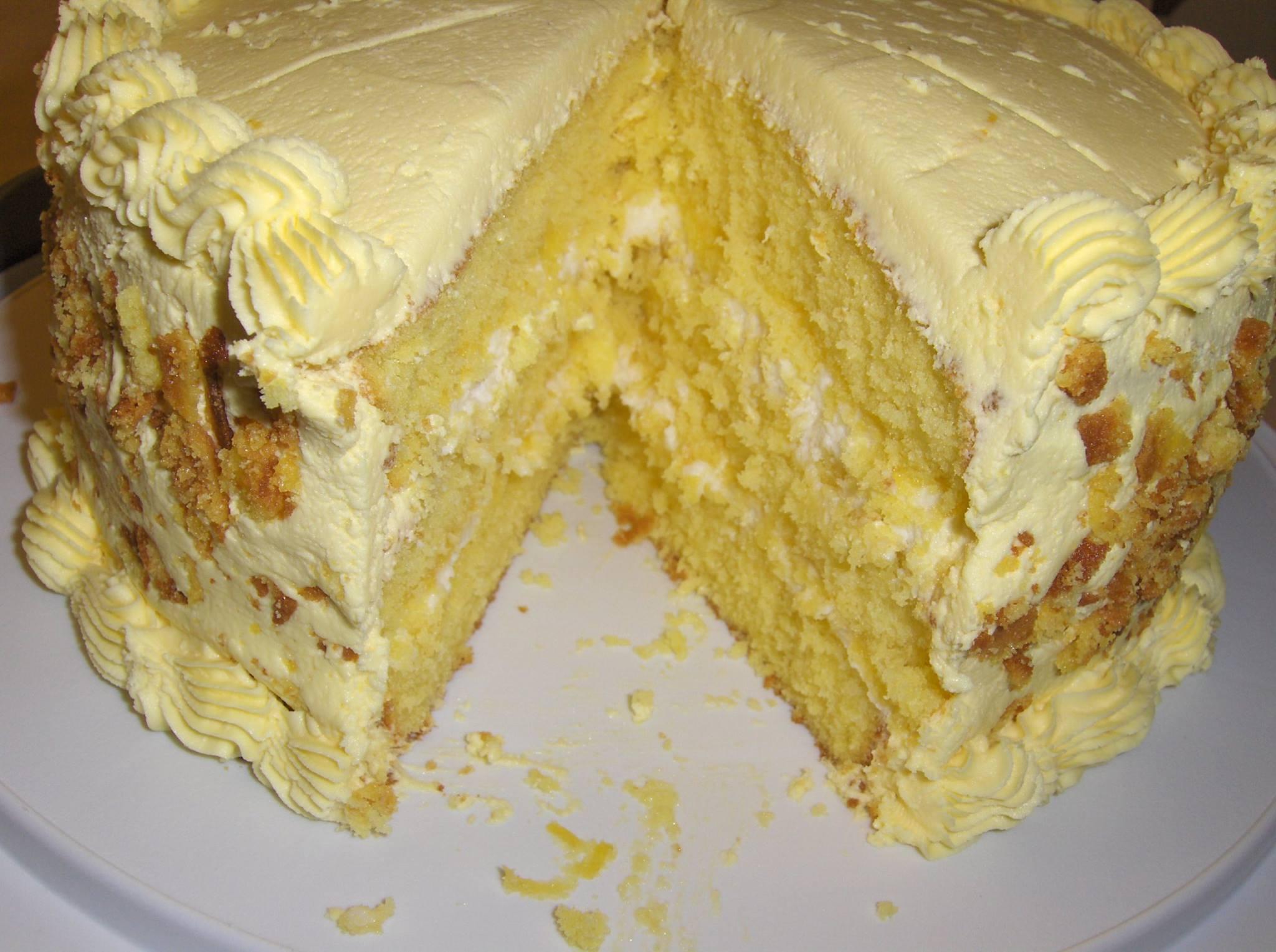 Skinny Yellow Cake Recipe