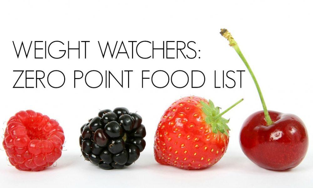 Flex new zero weight watcher points food list - Cuisine weight watchers ...
