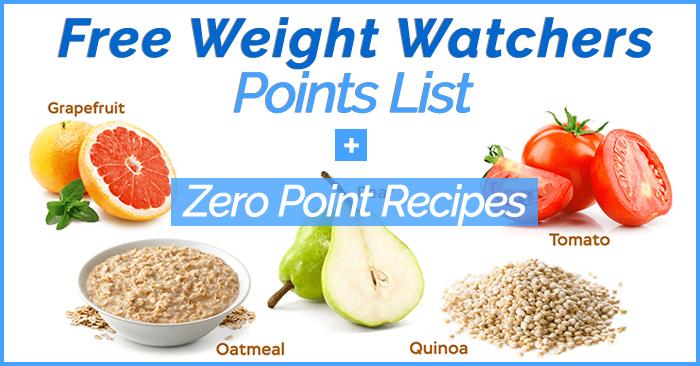 weight watchers points list 2017 pdf