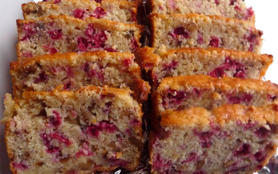 Mandarin Orange And Cranberry Muffin Bread
