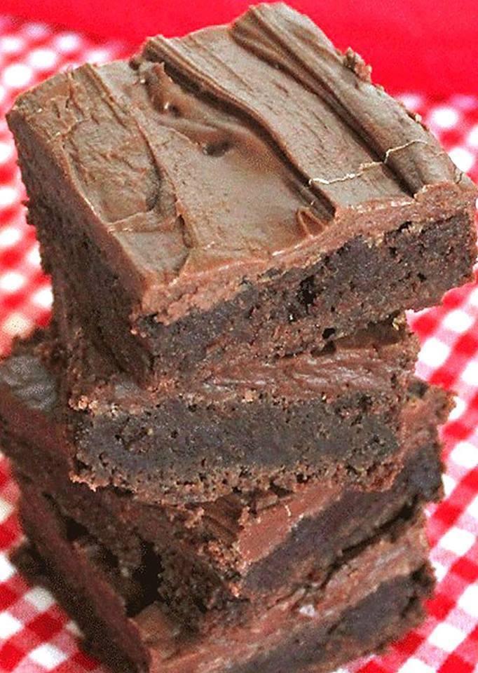 The Best Brownies Ever Lunchroom Ladies 50 Year Old Recipe
