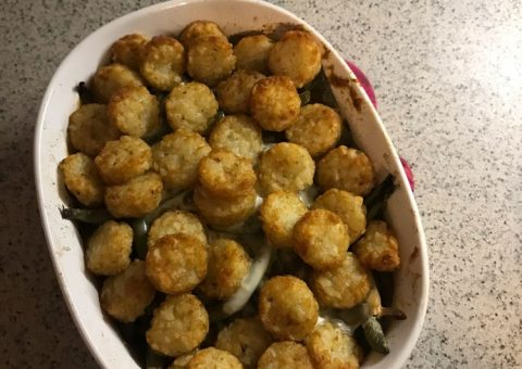 Tatertot casserole recipe